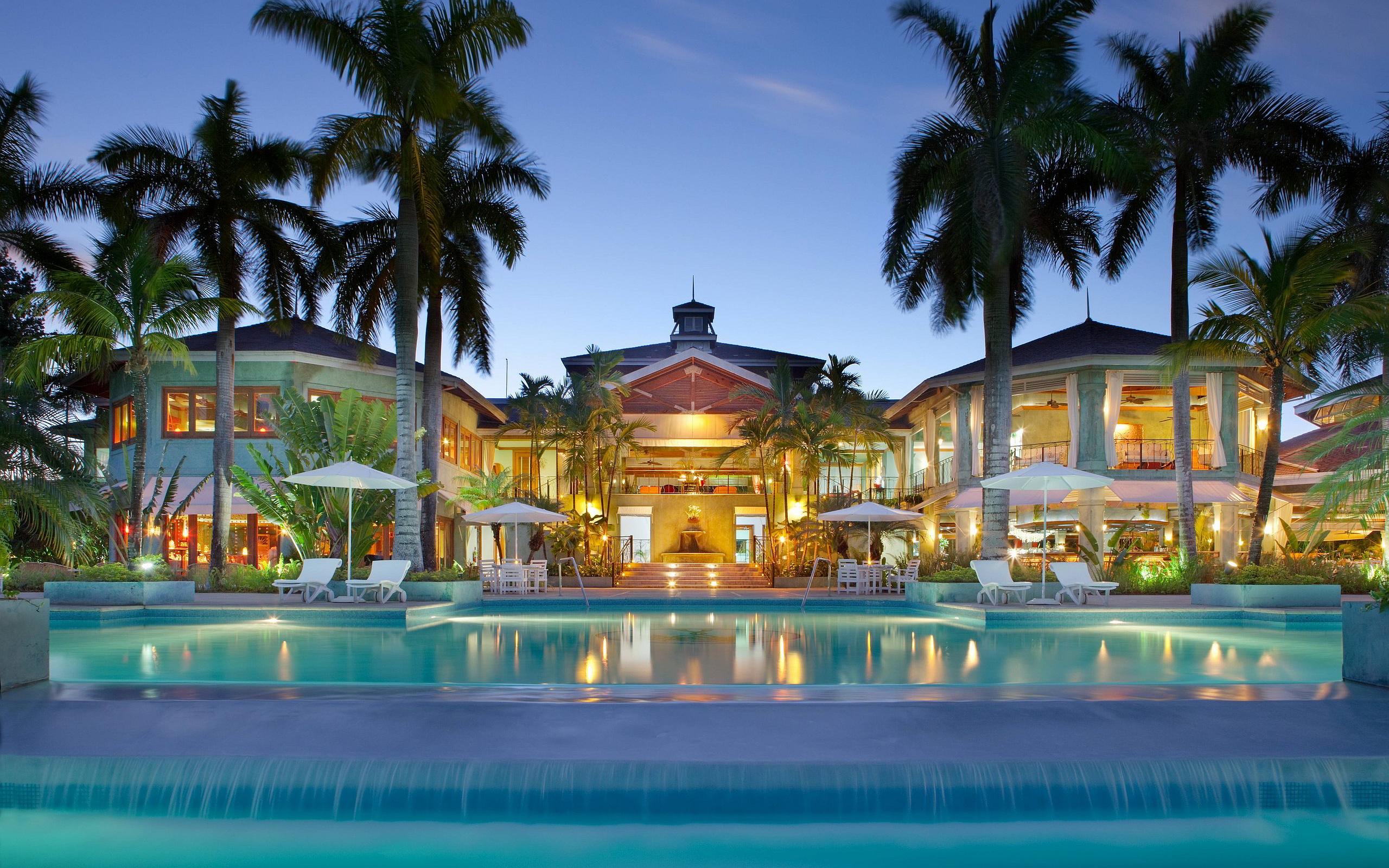 Luxury Resort Evening