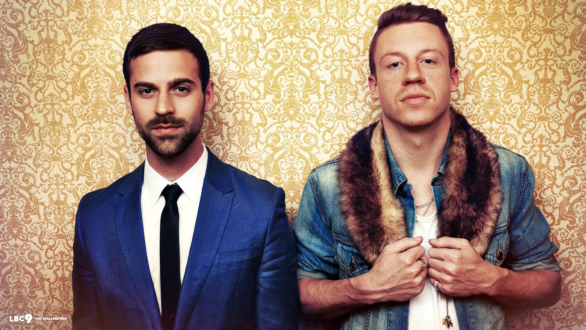 macklemore and ryan lewis hd wallpaper