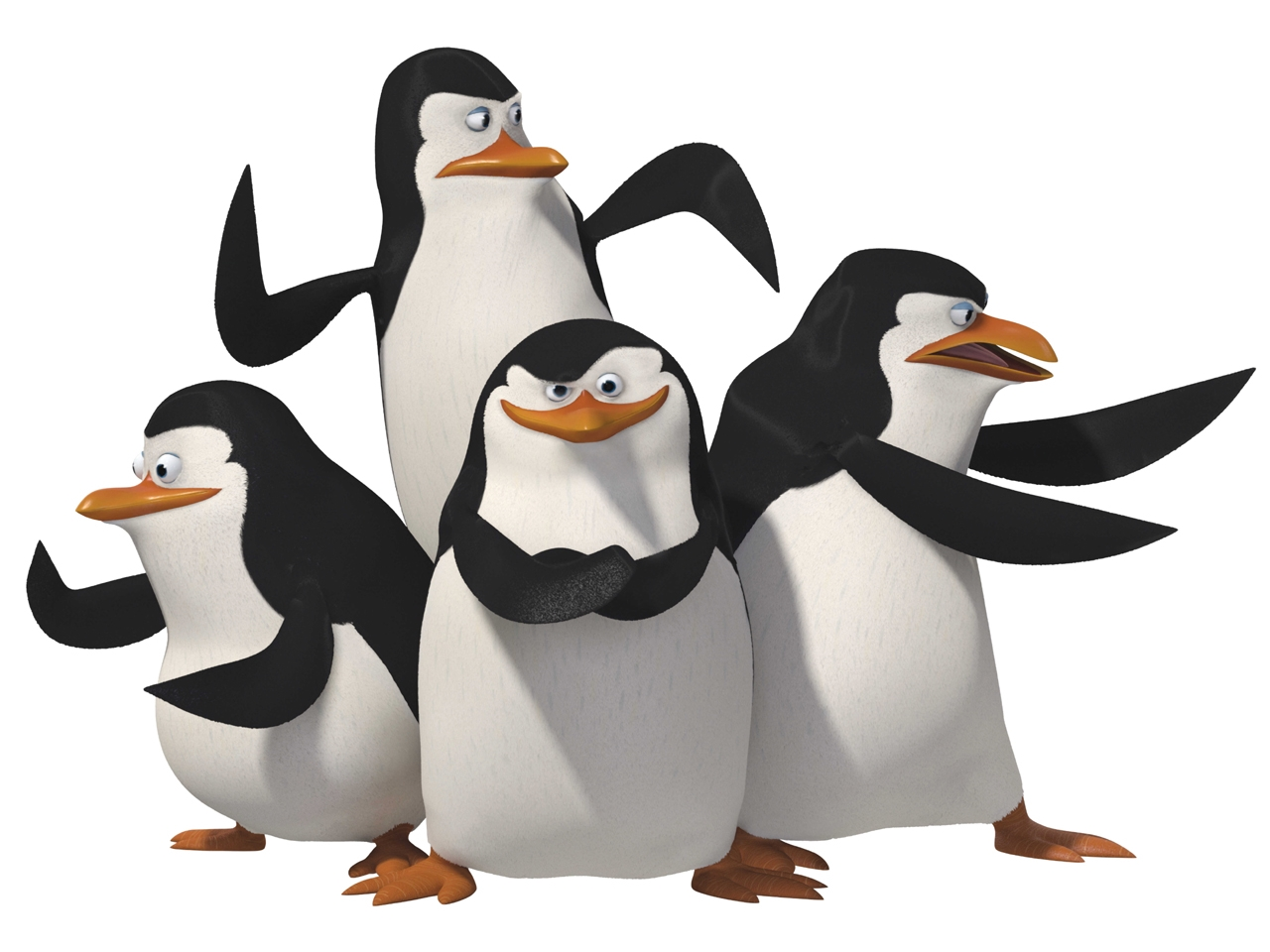 Pinguins of madagascar