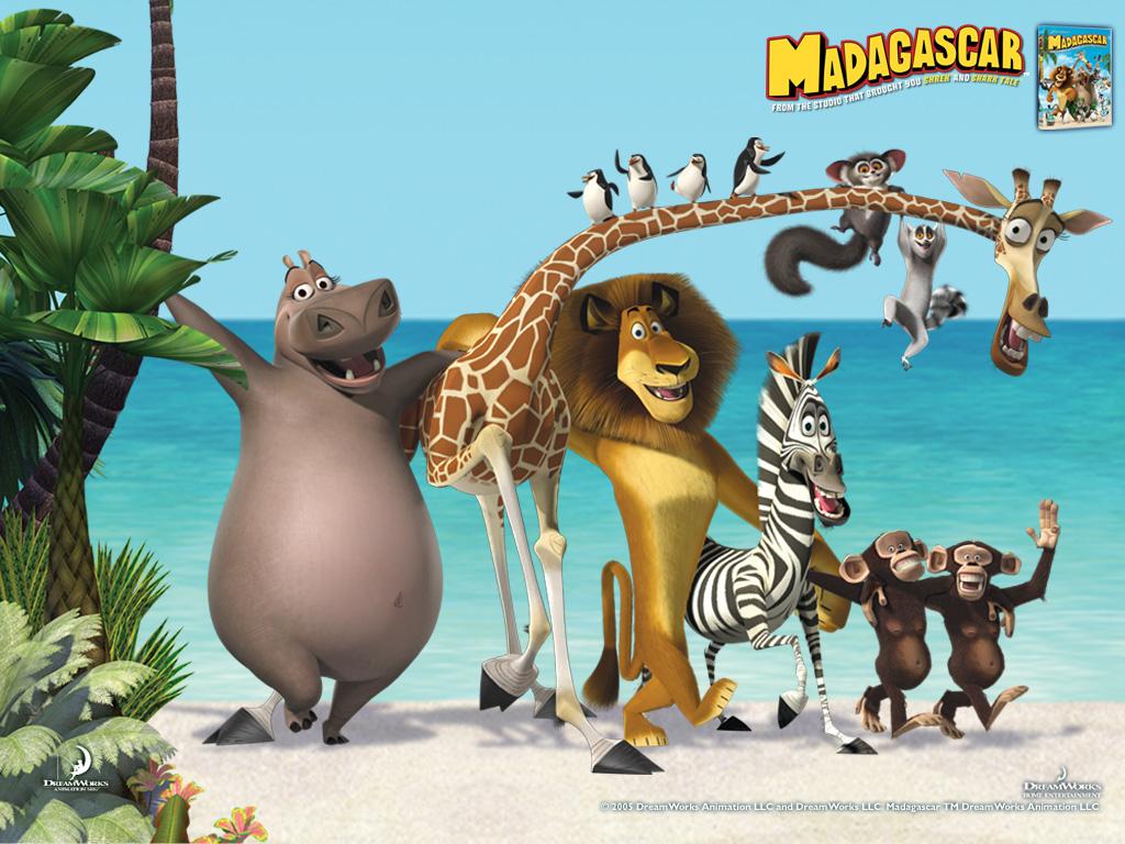 """Madagascar"" desktop wallpaper number 1 (1024 x 768 pixels)"