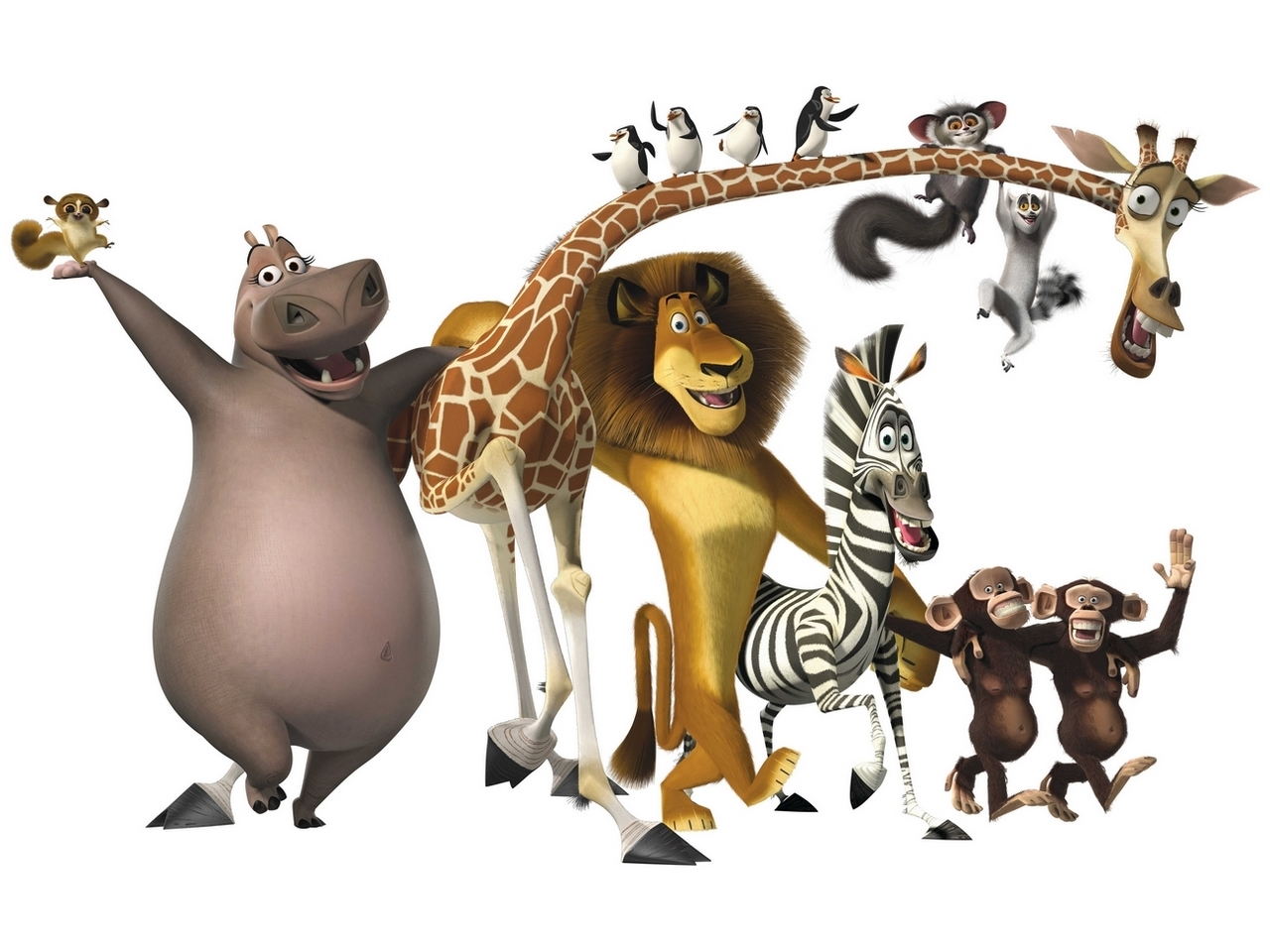 Madagascar wallpaper 1280x1024 48441 - Madagascar wallpaper ...
