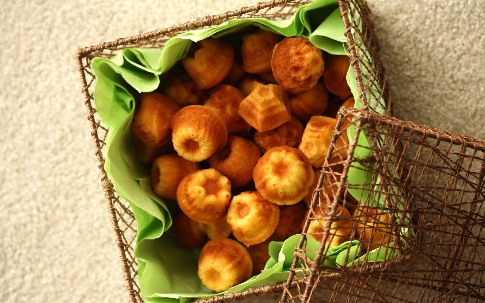Madeleines Cookies Box Food