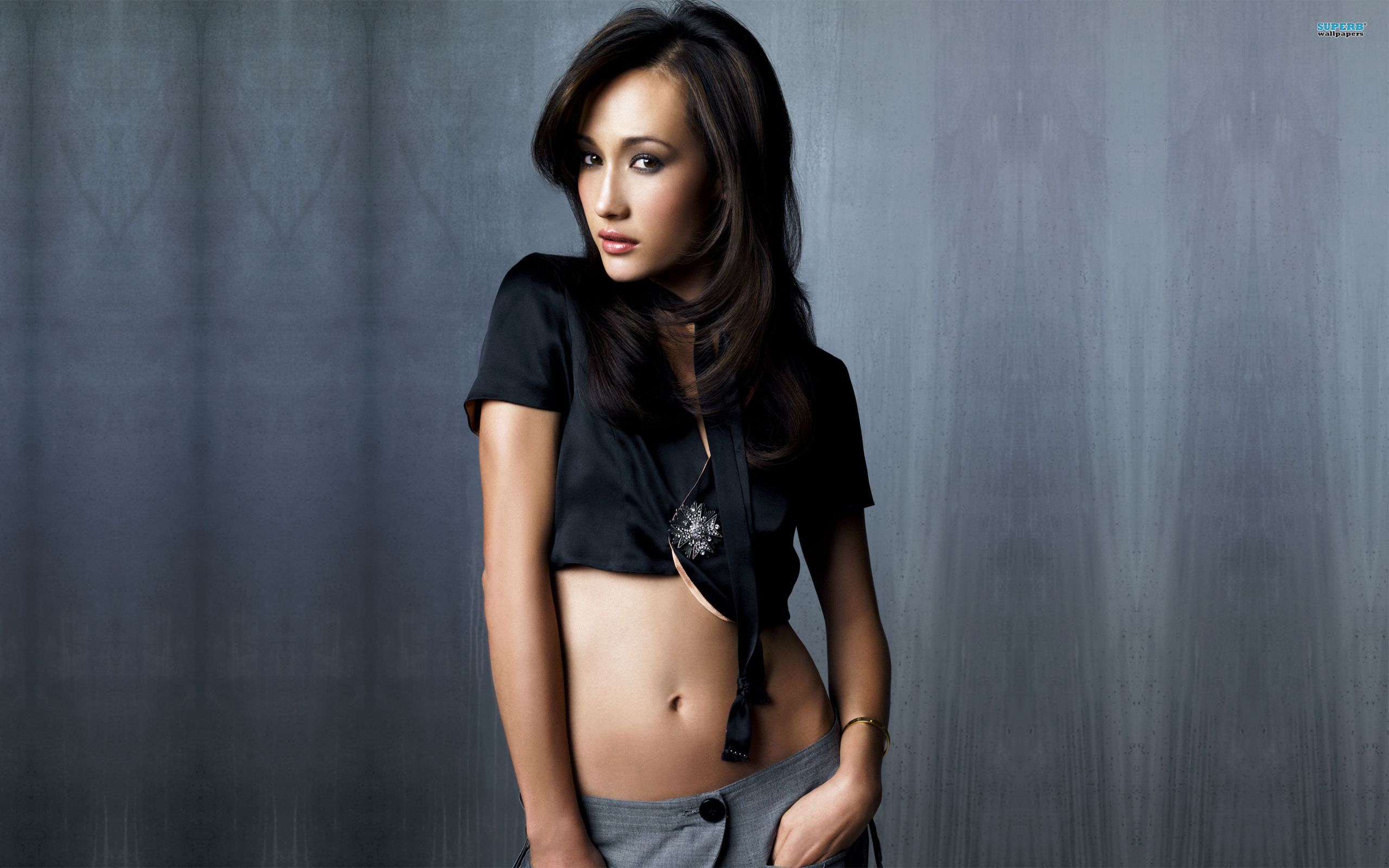 Maggie Q wallpaper 2560x1600 jpg