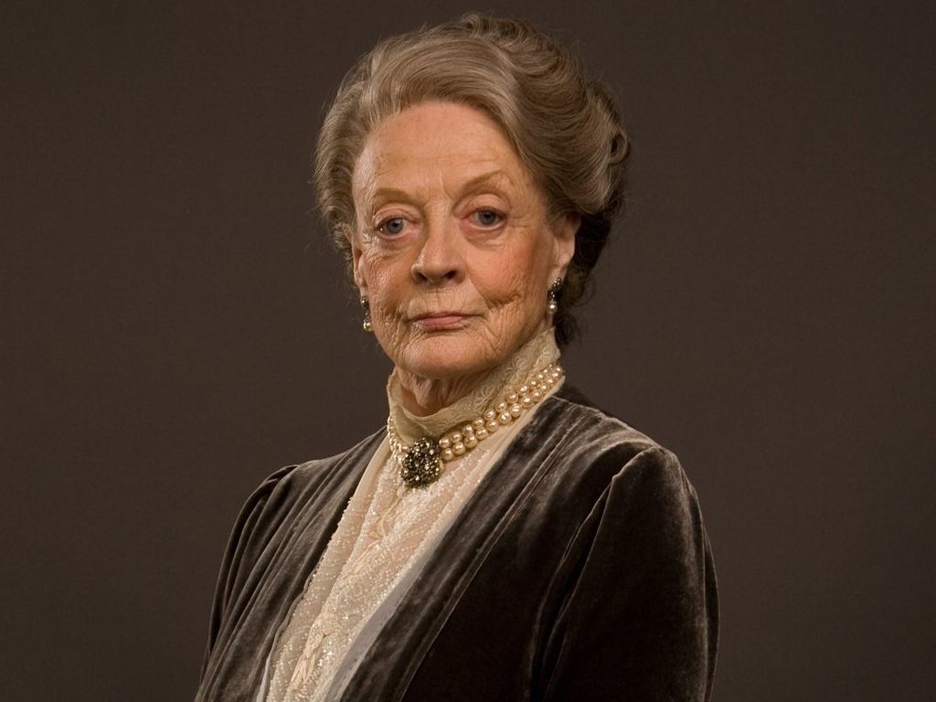 ... Maggie Smith ...