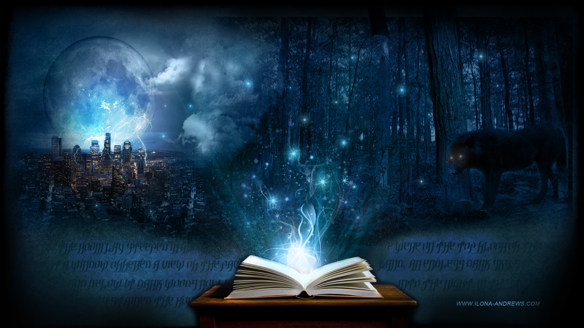 Magic Book Desktop Wallpaper