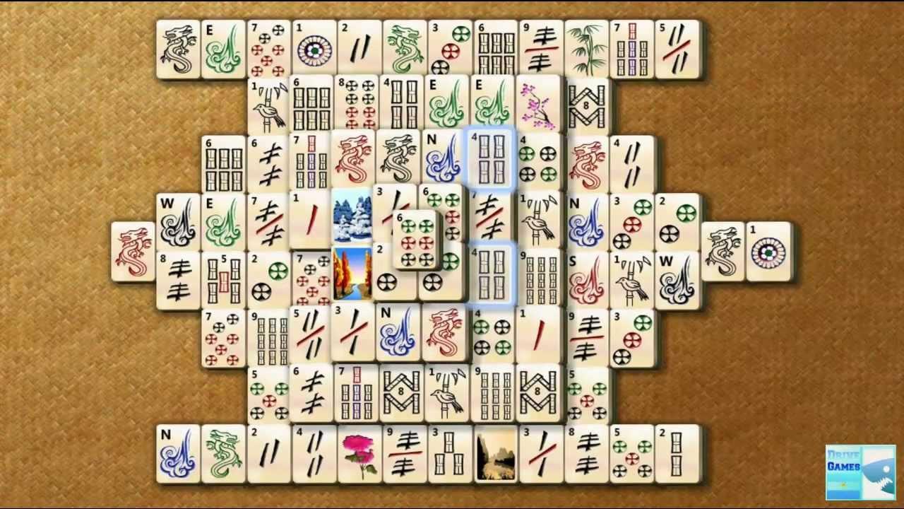 Mahjong Titans - Tortuga Gameplay [Windows 7 Ultimate] [2011] [HD]