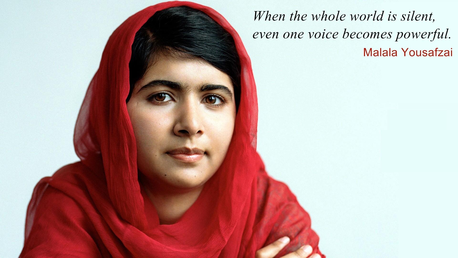 Malala Yousafzai Wallpaper 1920x1080 63701