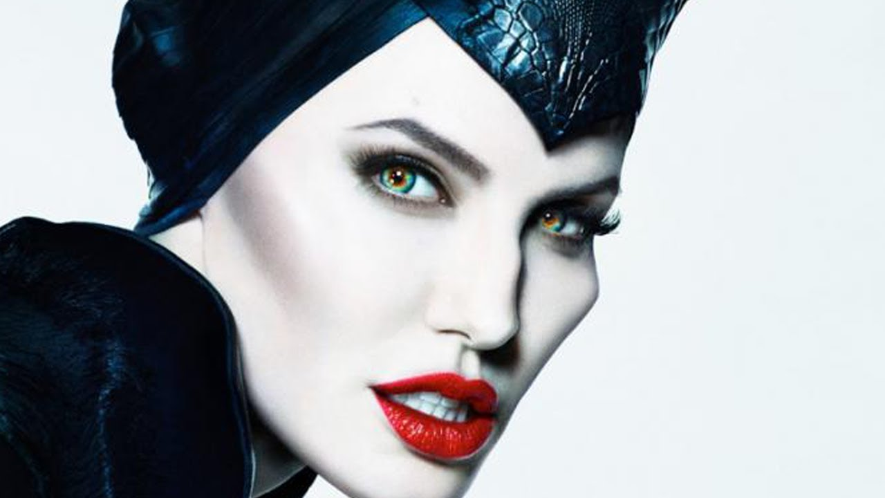 Maleficent Inspired Makeup