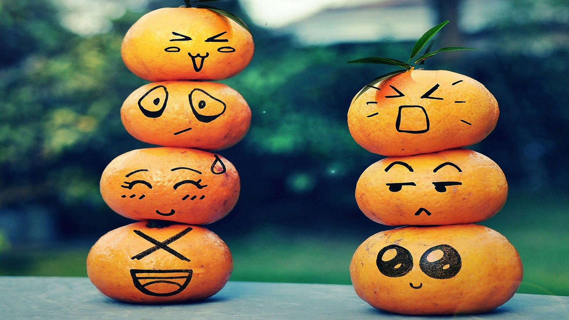 Mandarin Smileys