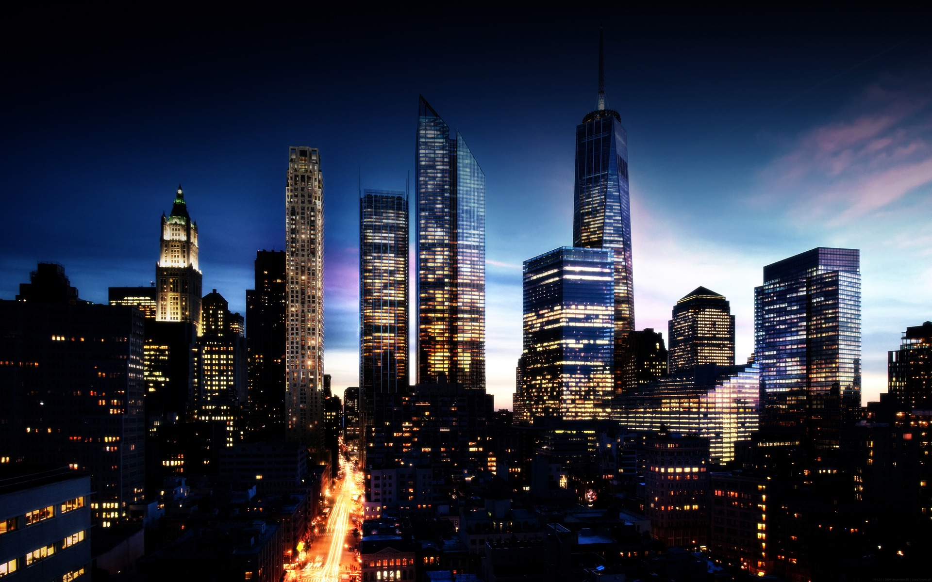 Manhattan Backgrounds