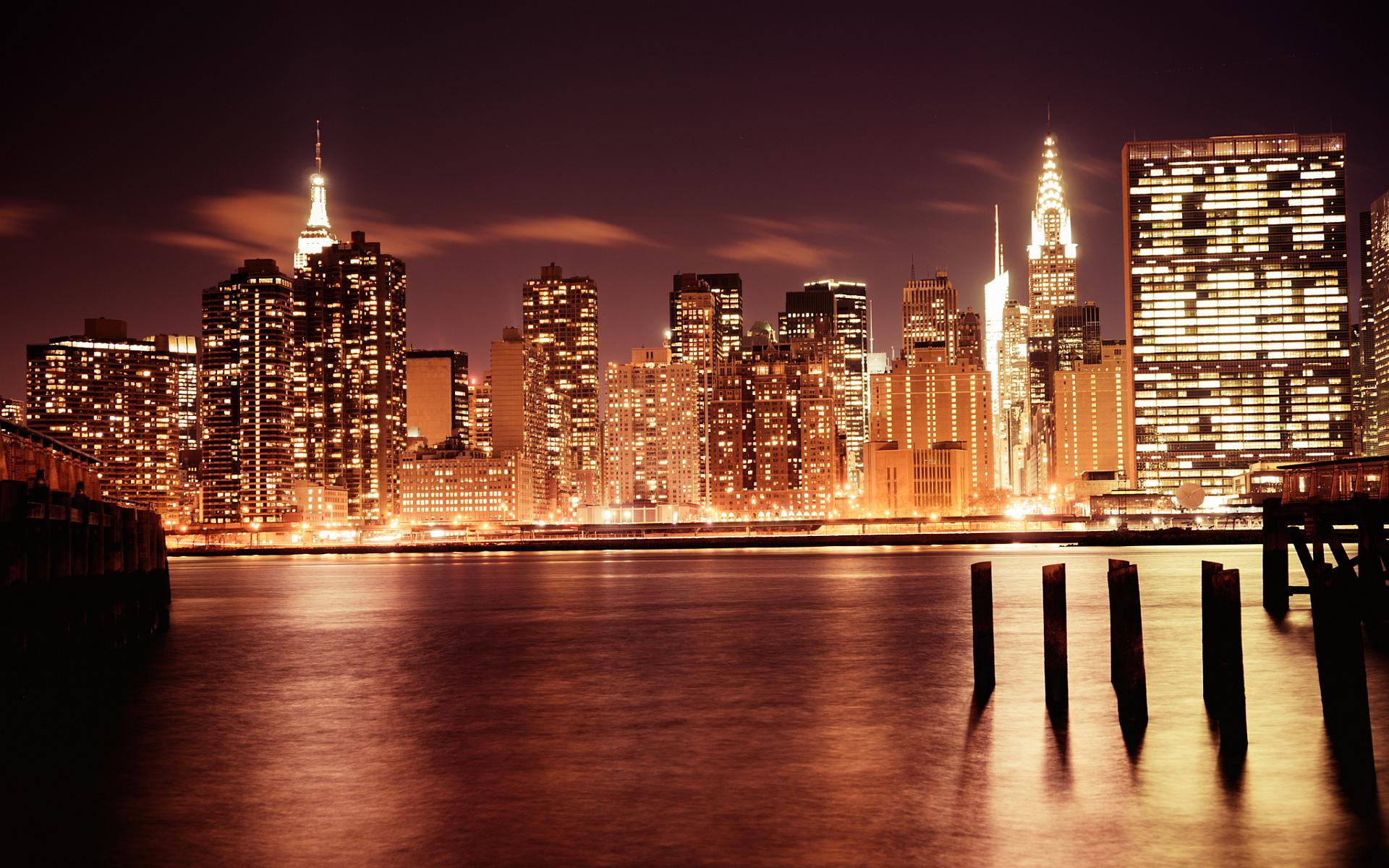 Manhattan night 1