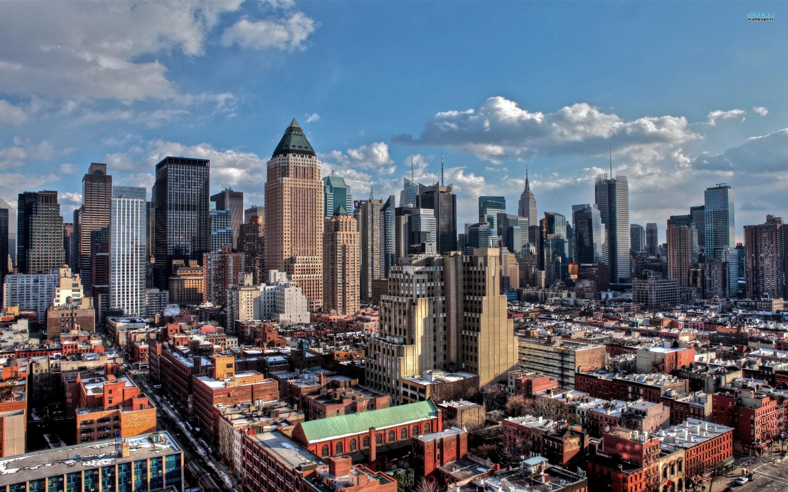 Manhattan wallpaper 2560x1600