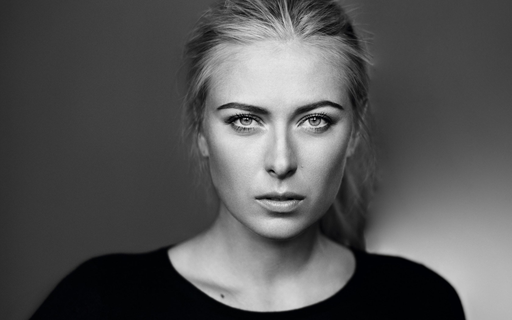 Maria Sharapova Tennis Player Portrait