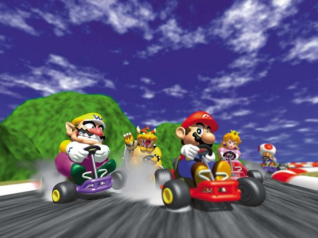 Mario Nintendo Karting · Mario Kart Rally 64