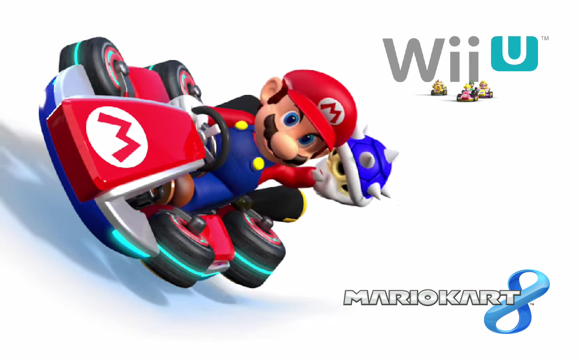 Mario Kart 8 Blue Shell Wallpaper