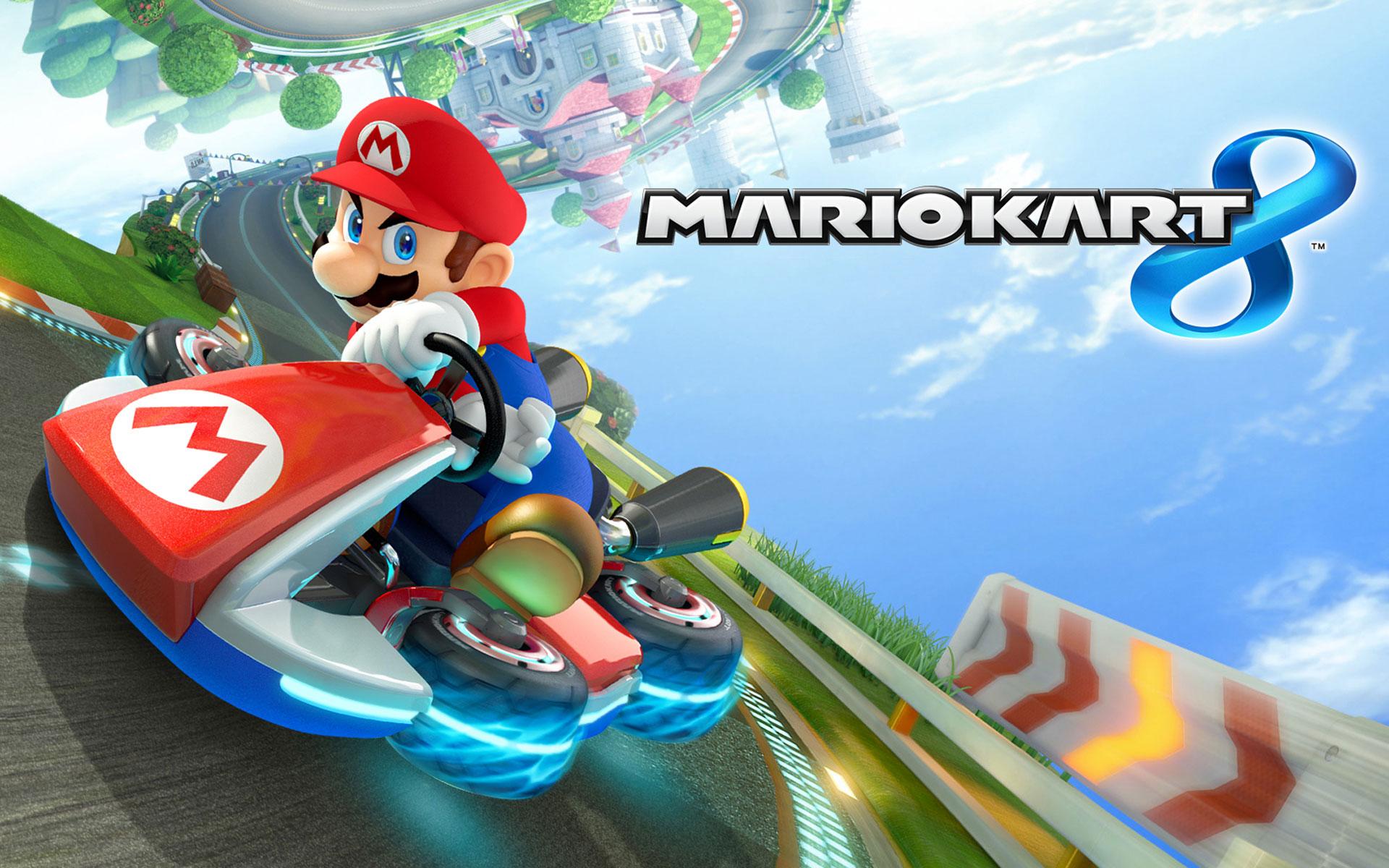 Mario Kart 8 Boxart Wallpaper