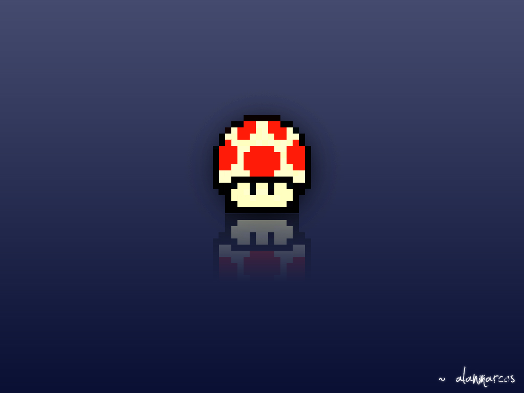 View And Download Mario Mushroom Wallpapers