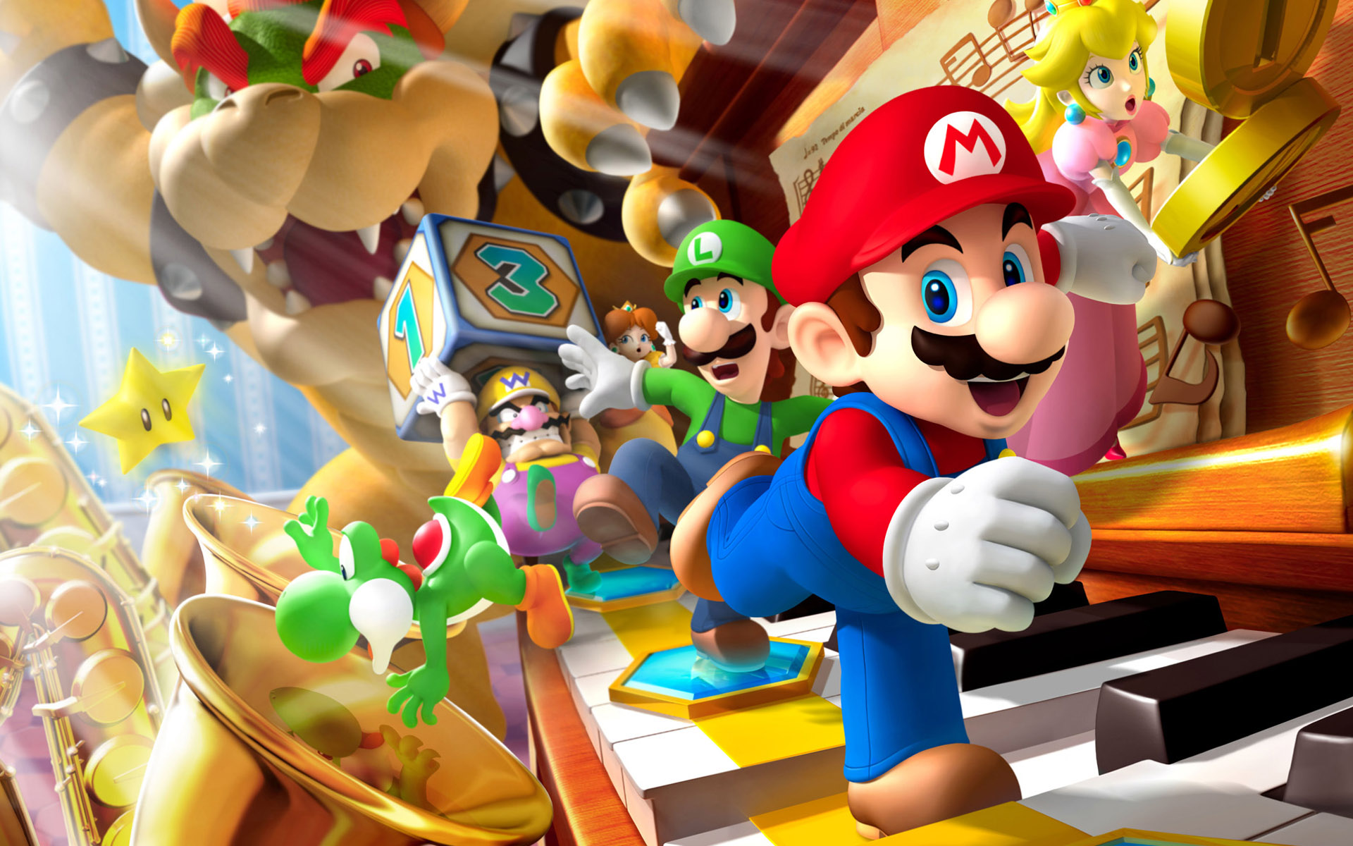 Free Mario Wallpaper