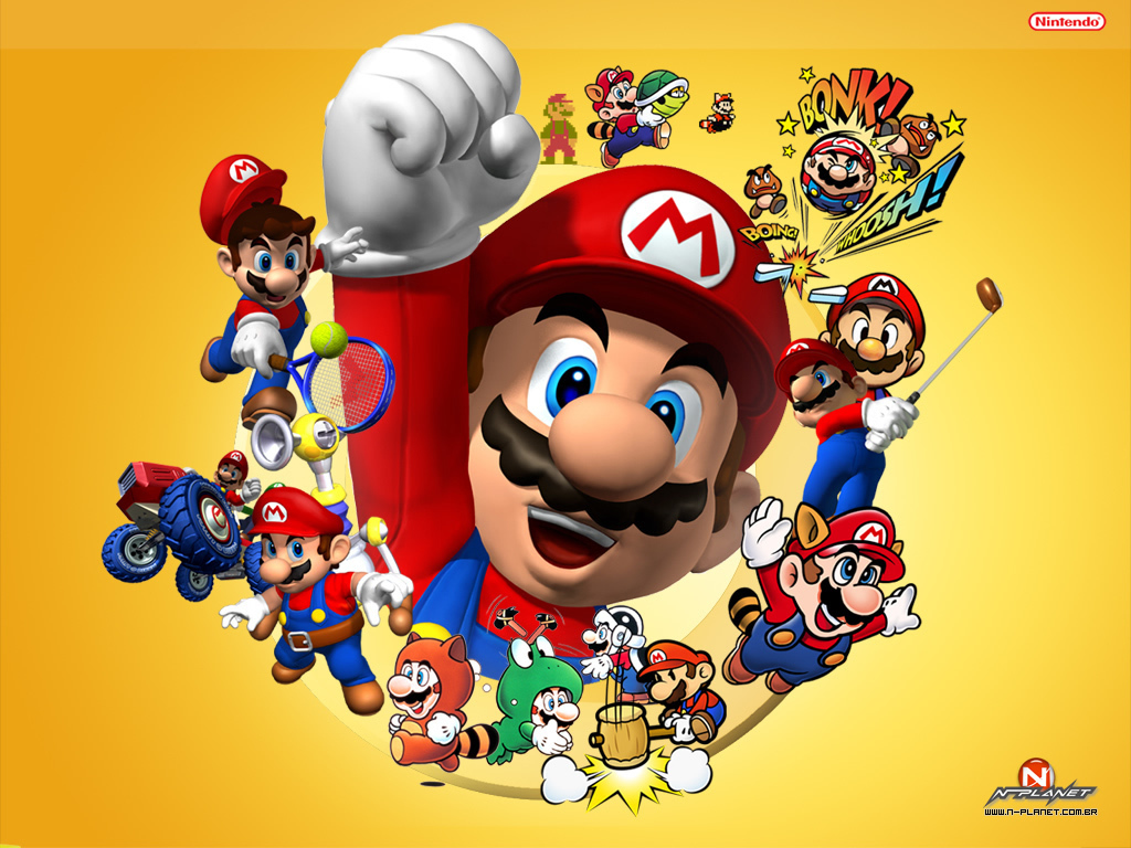 Mario Mario Wallpaper