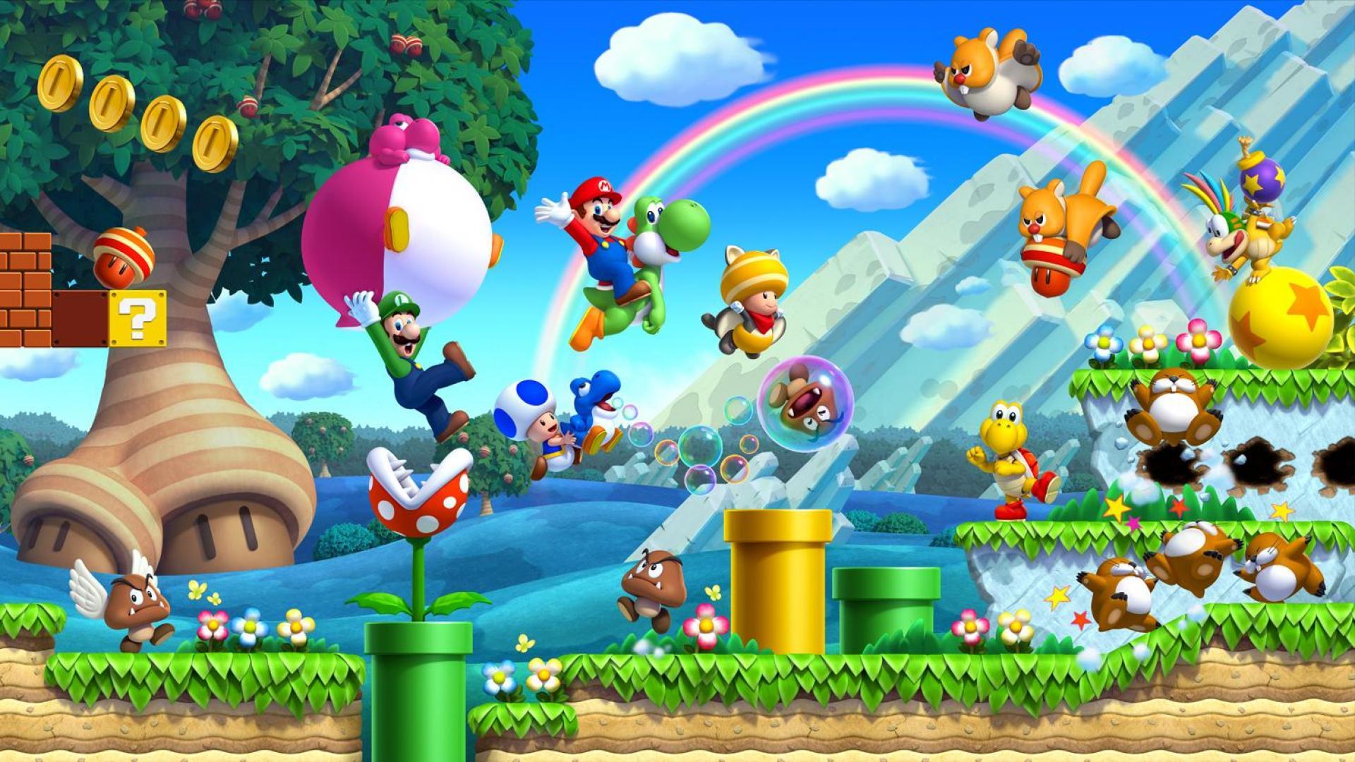 Mario Wallpaper HD Free Download