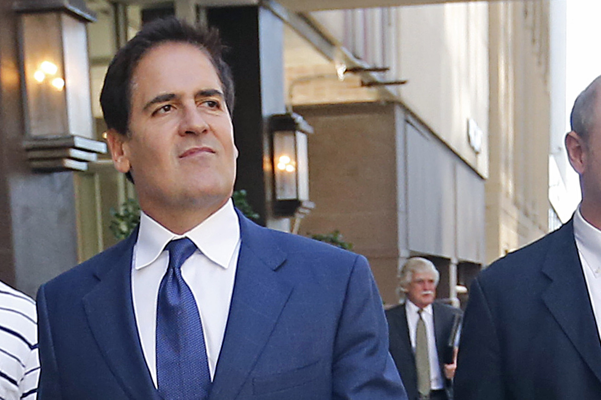 Dallas Mavericks owner Mark Cuban Photo: Stewart F. House/Getty Images