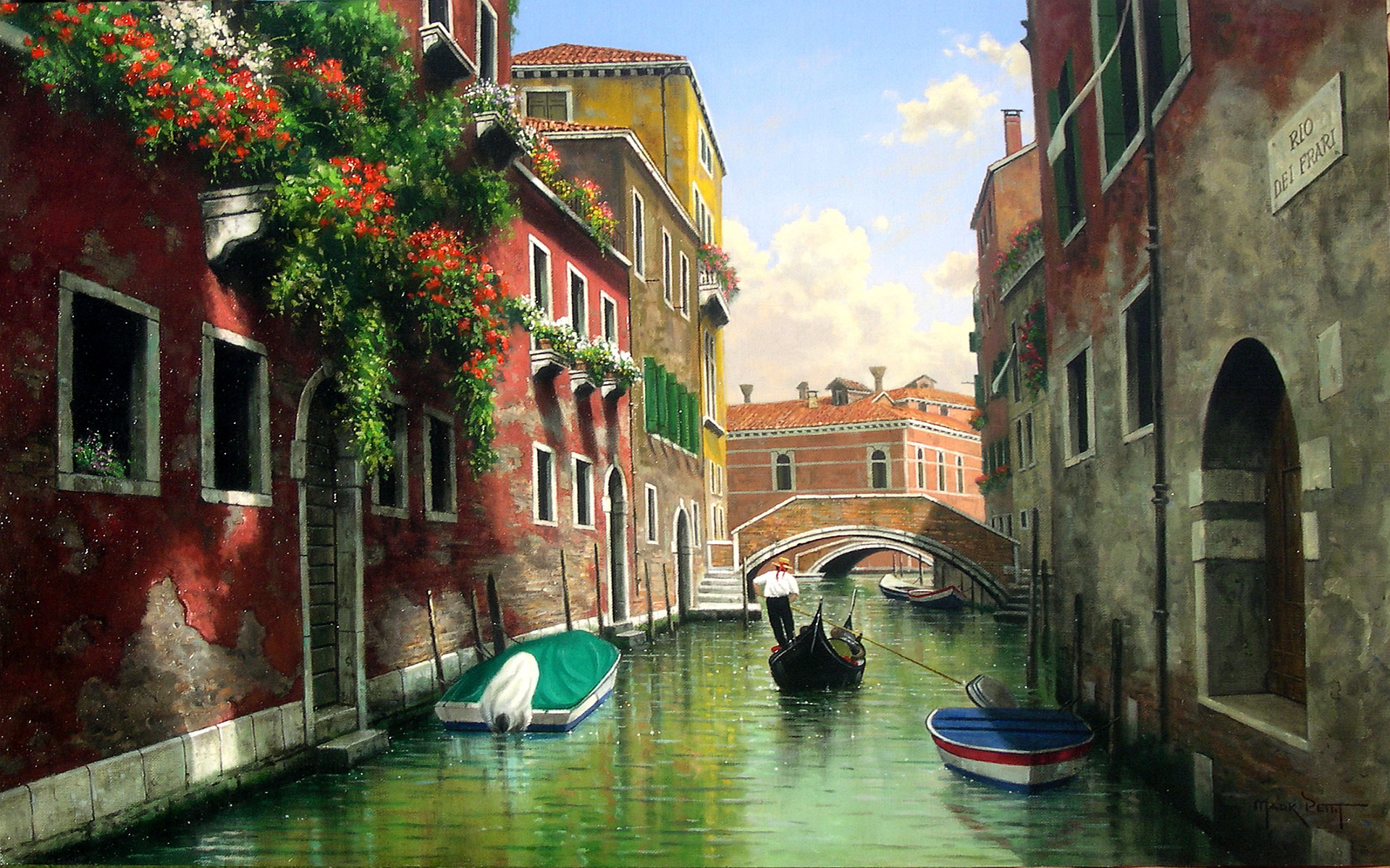 Mark petit venice art