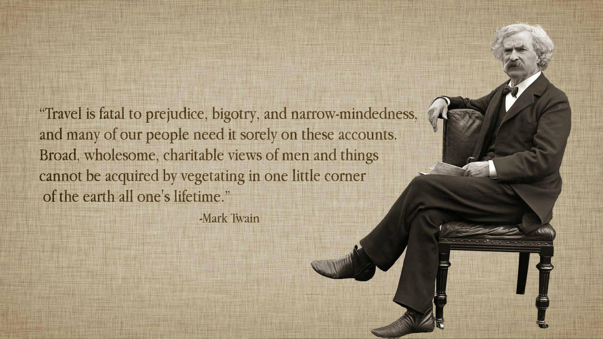 Mark Twain Quotes 10 Desktop Background