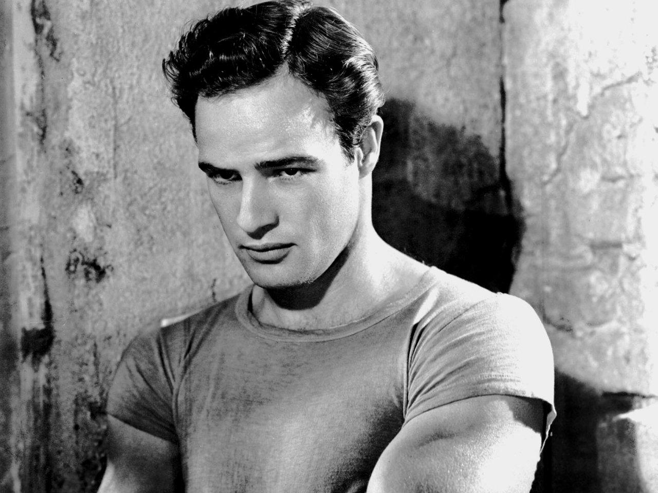 Marlon Brando, Actor. Omaha, NE.