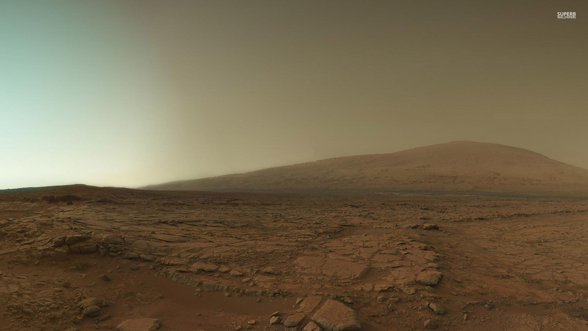 Download Mars surface wallpaper