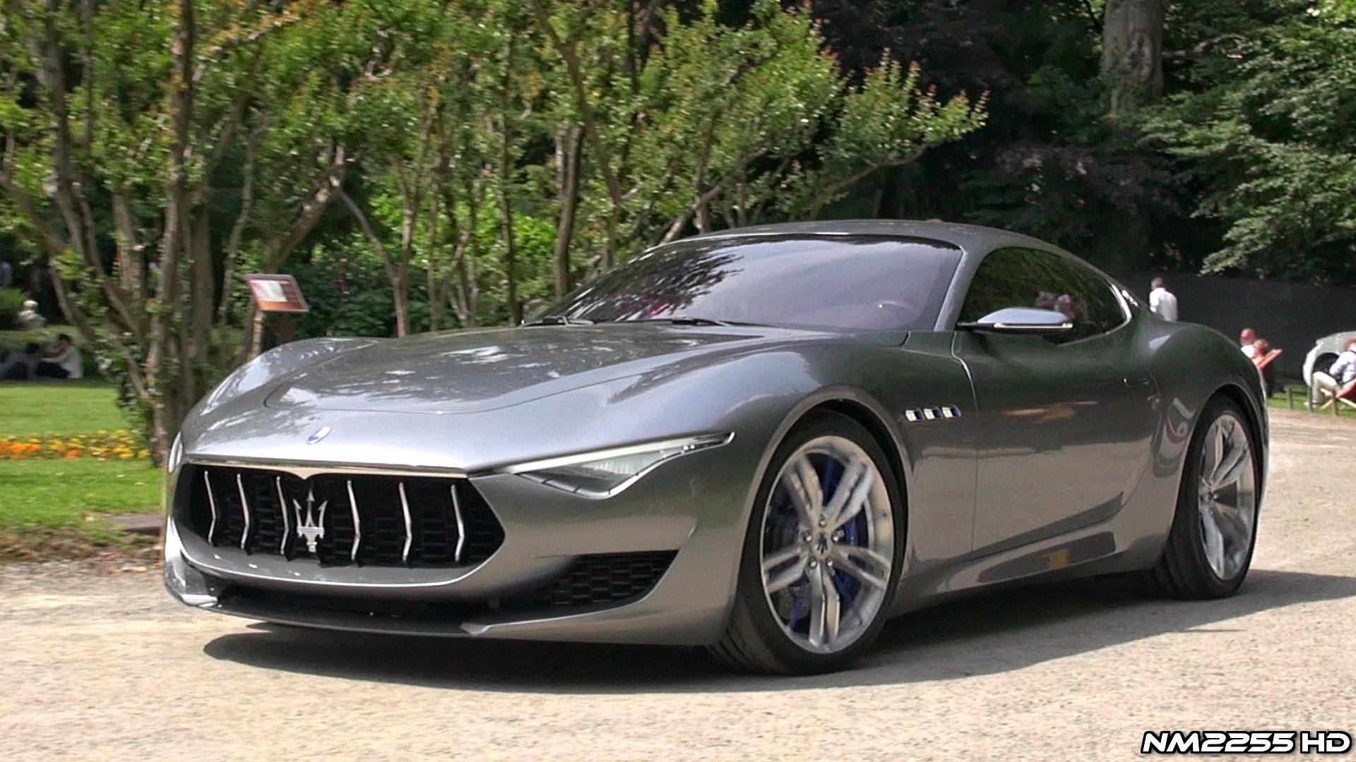 Maserati Alfieri Concept Amazing V8 Sound