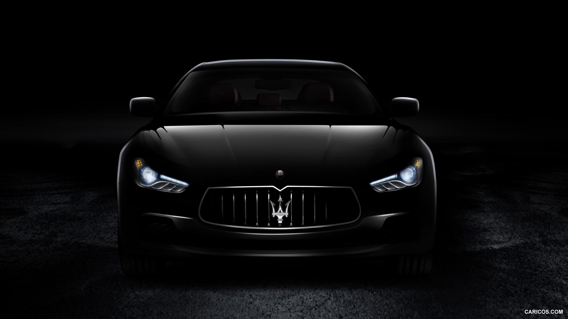 2014 Maserati Ghibli - Front Wallpaper