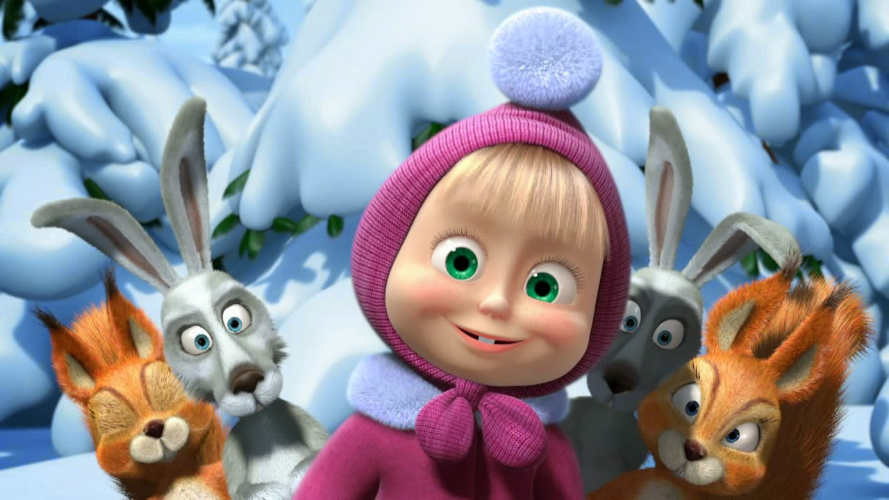Wallpaper Masha And The Bear