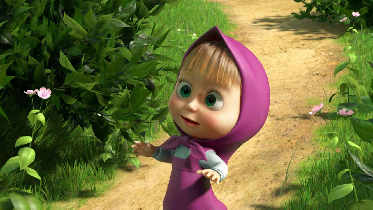 Masha and the Bear wallpaper | 1280x720 | #48466