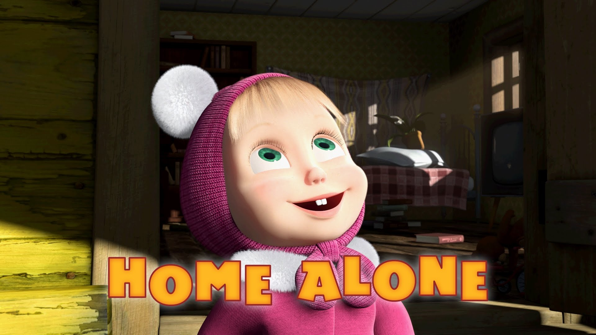 Masha and The Bear - Home Alone (Episode 21) - Duration: 7 minutes.