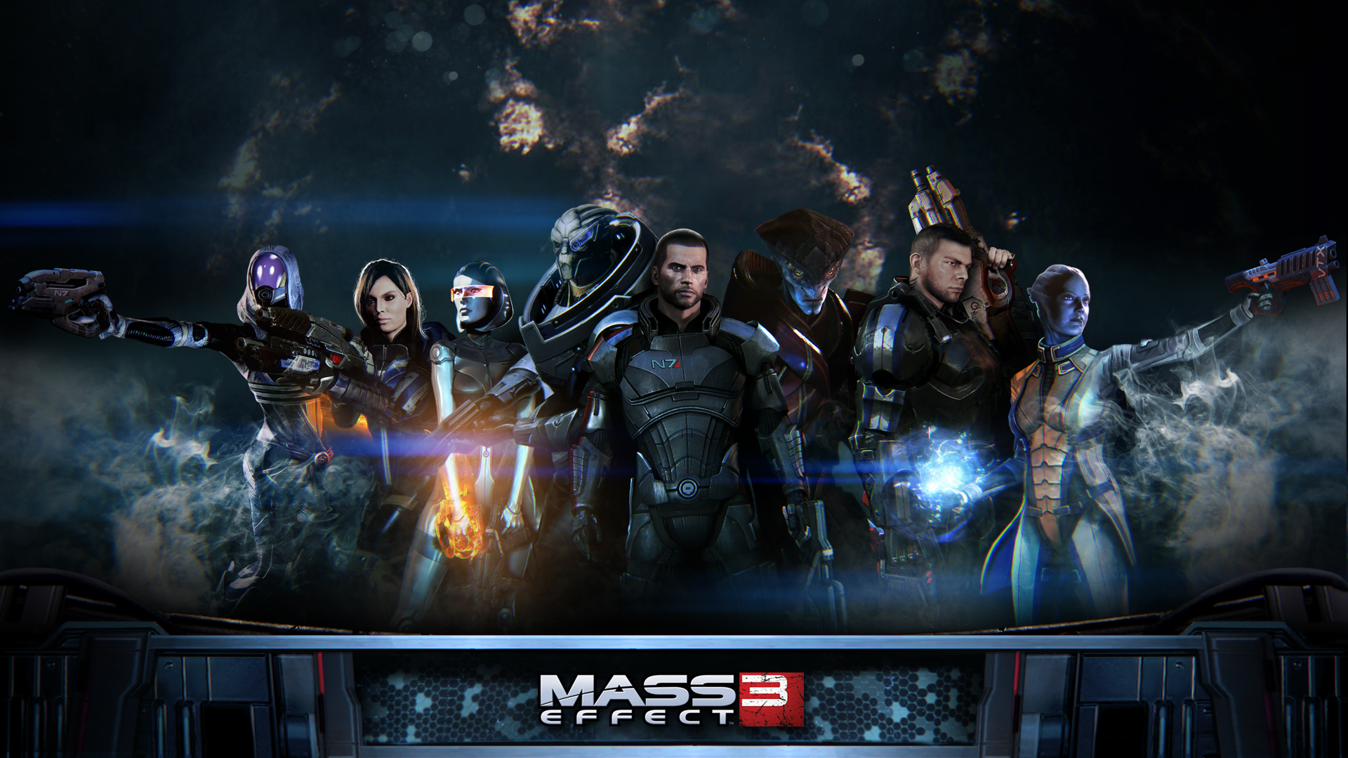 Mass Effect 4 News Update: Mass Effect 3 Writer Returns To BioWare's Sci-Fi Epic