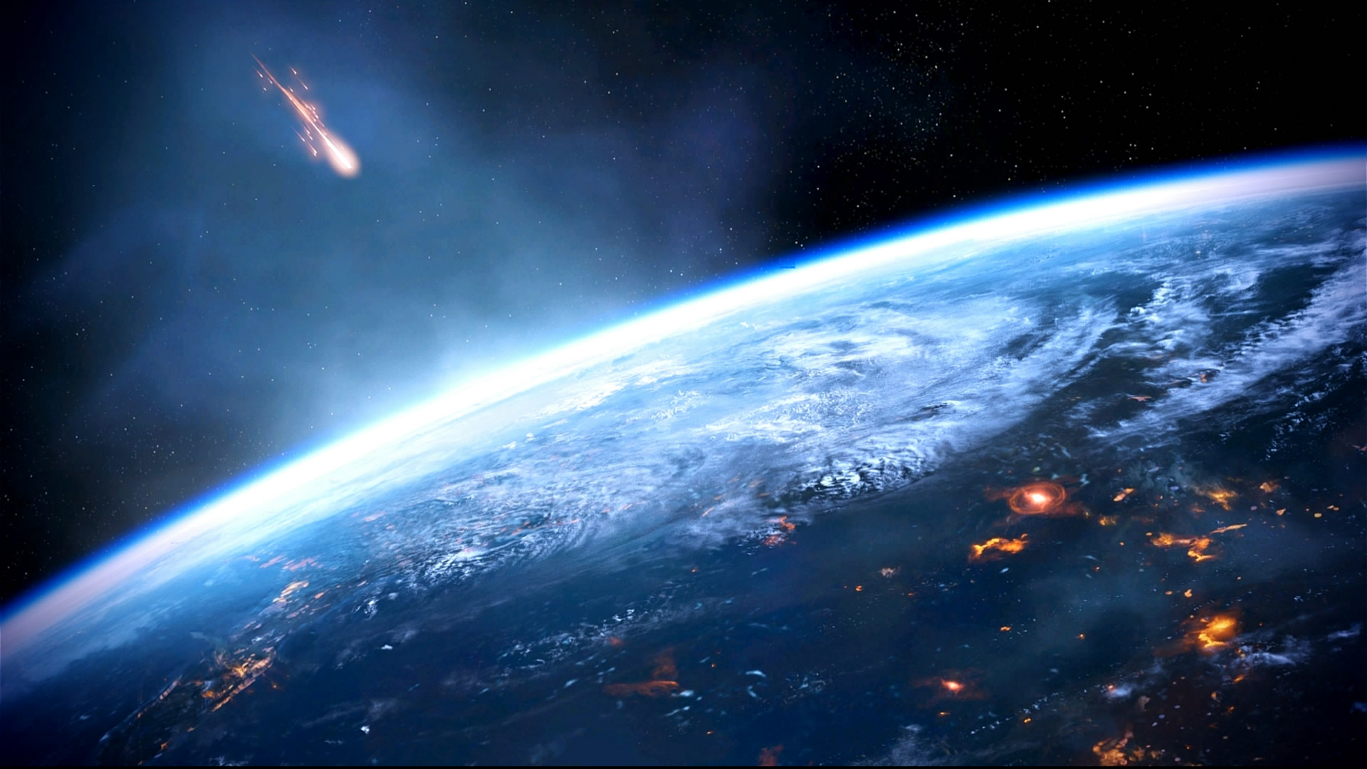 ... Mass Effect 3 Earth Dreamscene by droot1986