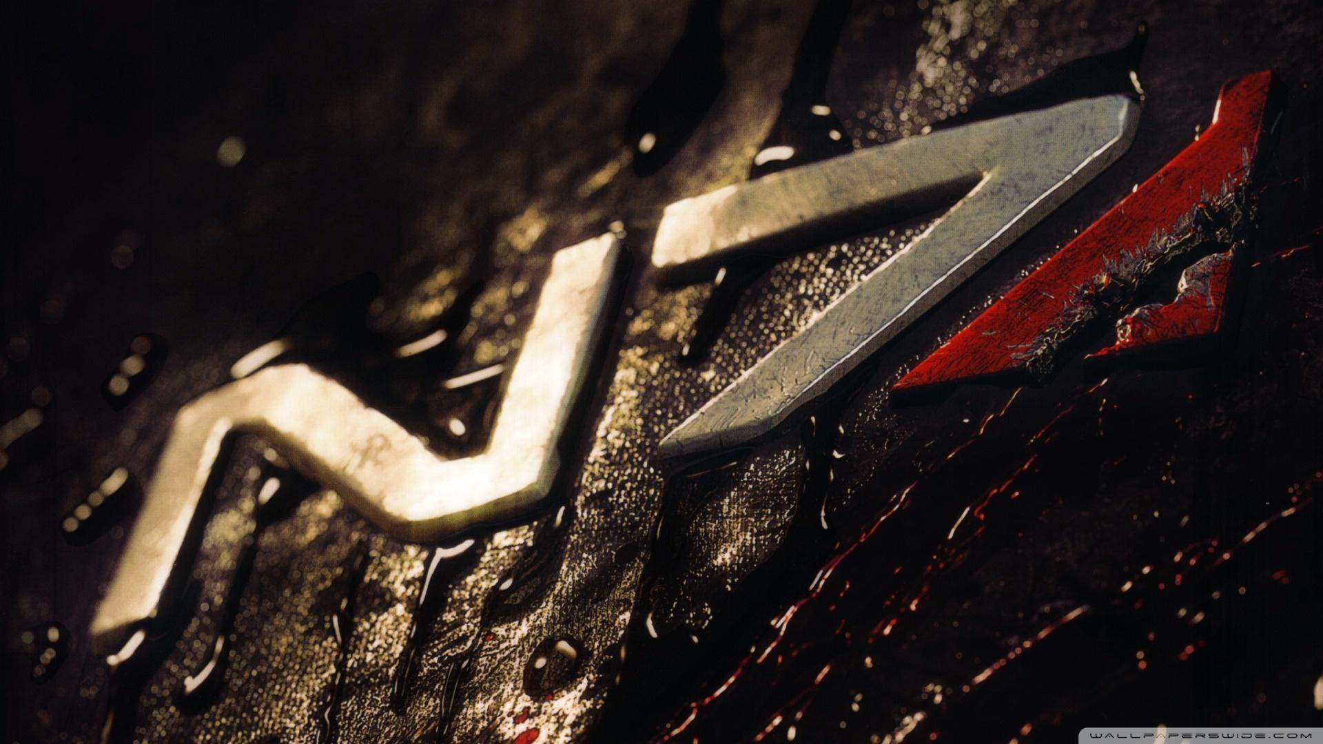 Mass Effect 3 N7 HD Wide Wallpaper for Widescreen