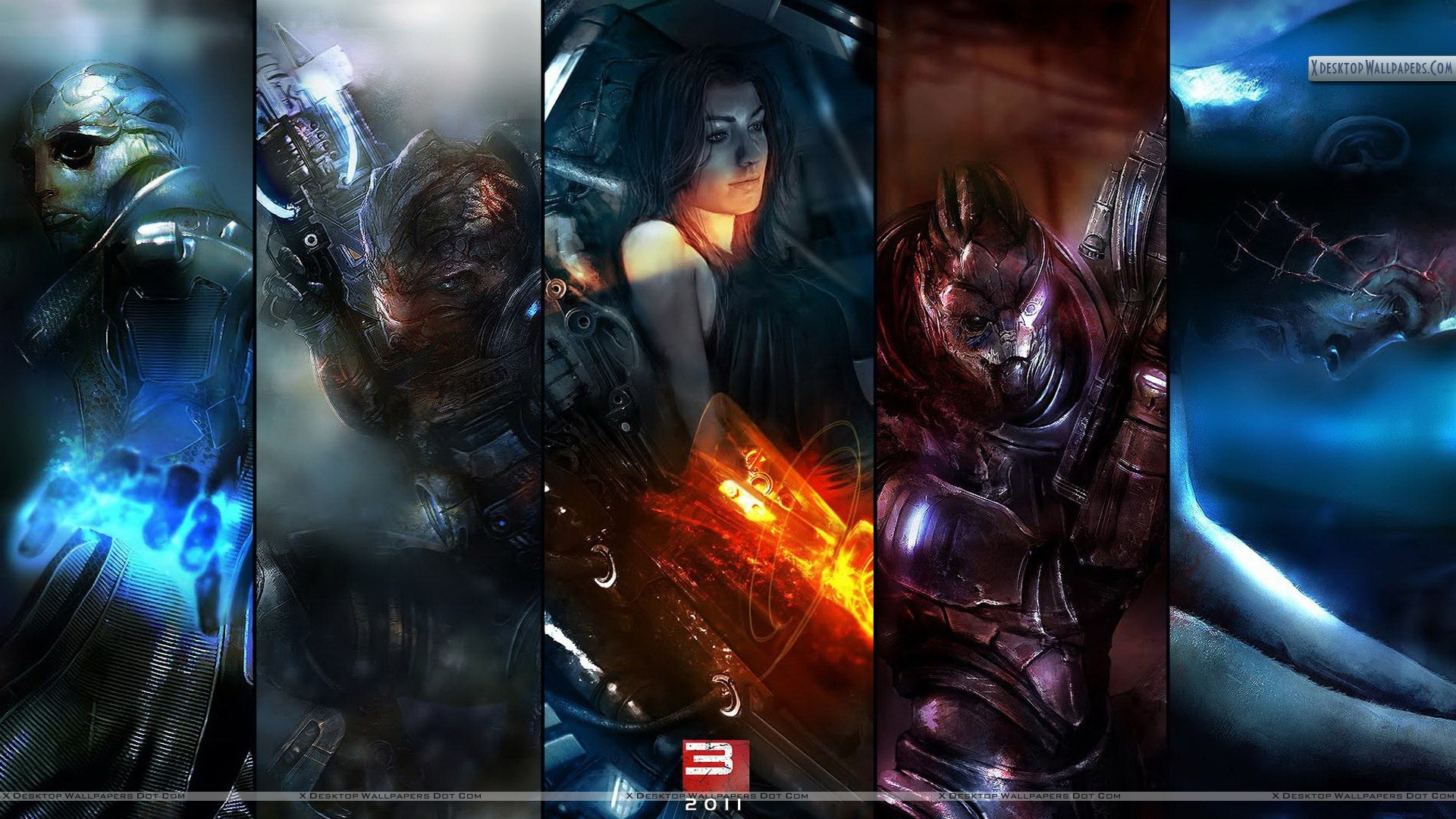 Mass Effect 3 Poster Wallpaper 1920x1080 9455