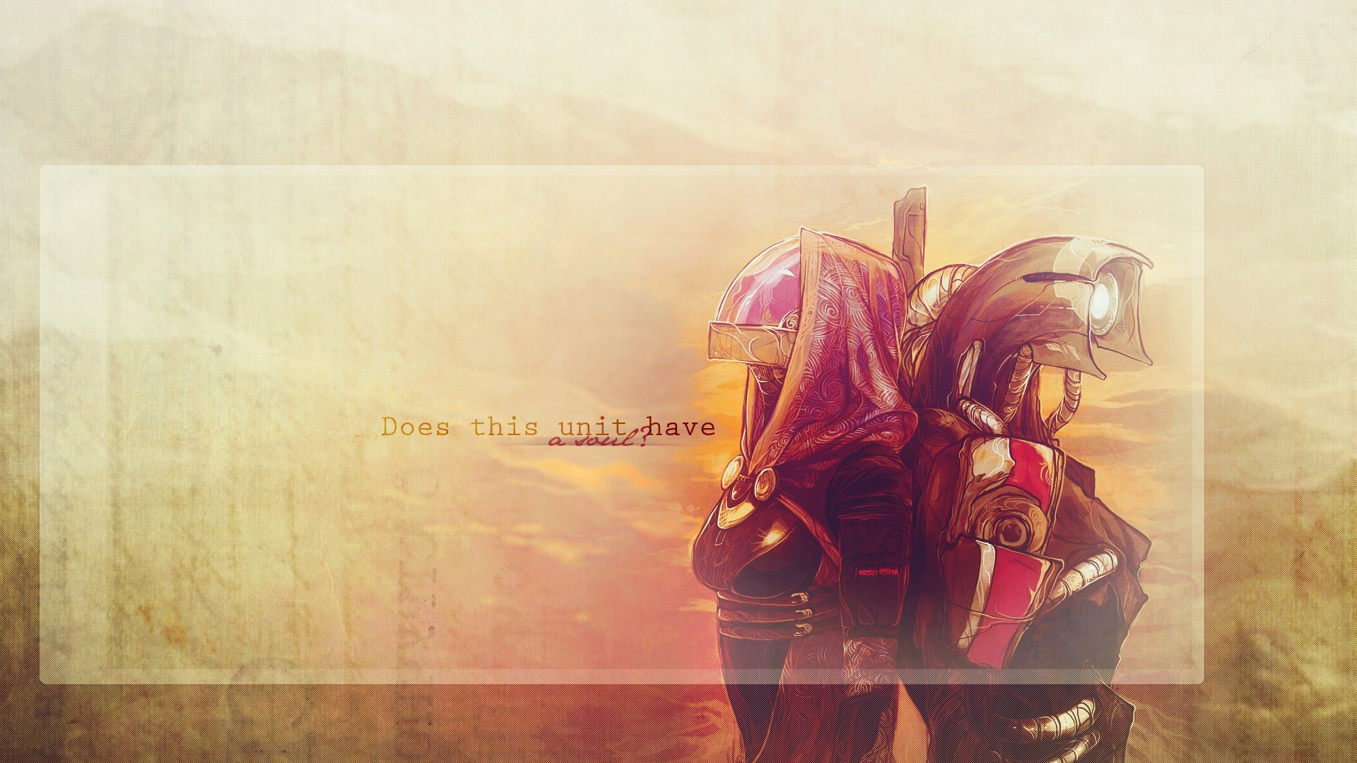 Mass Effect Tali Zorah Legion Video Game Artwork Wallpaper