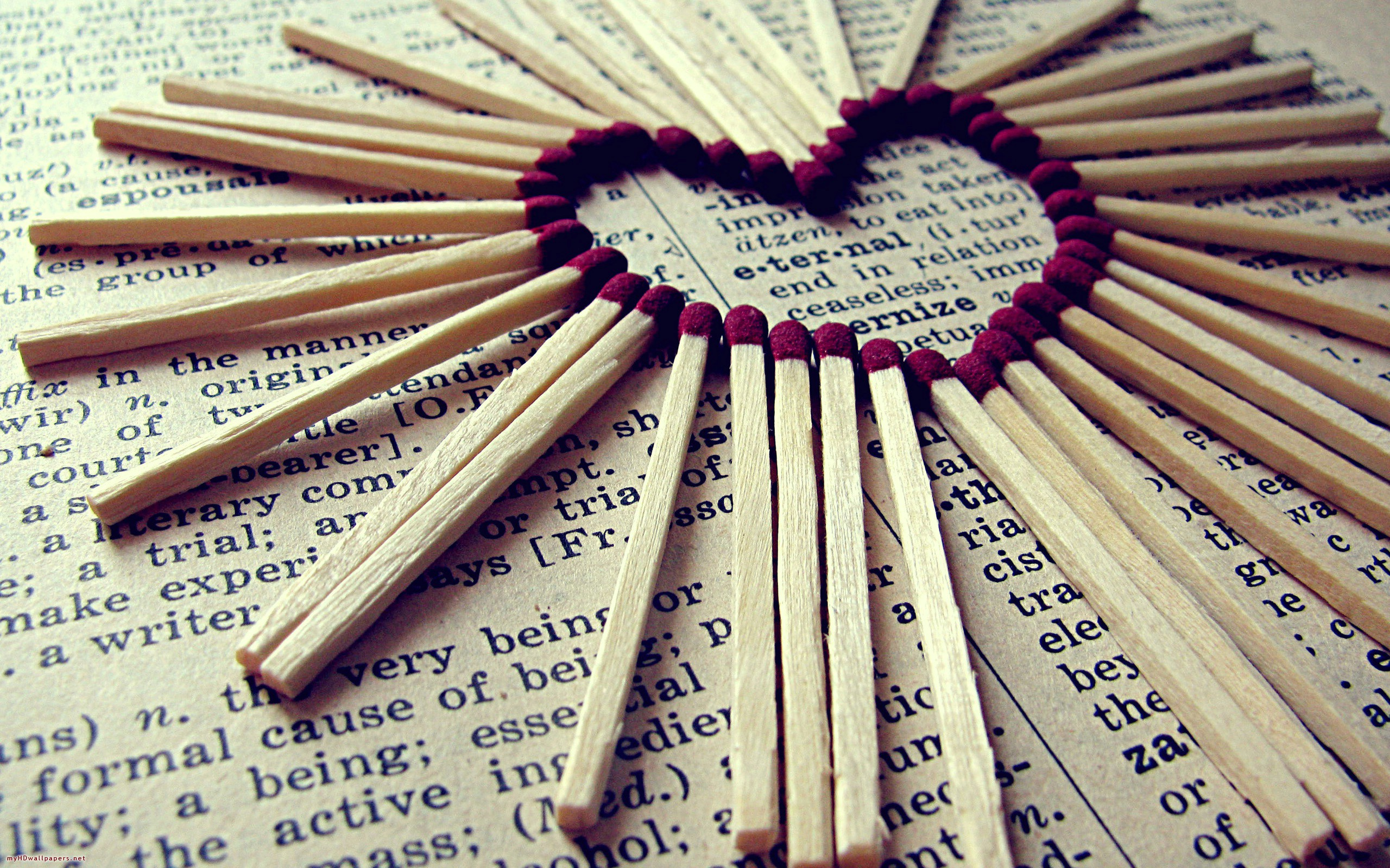 Matches Heart