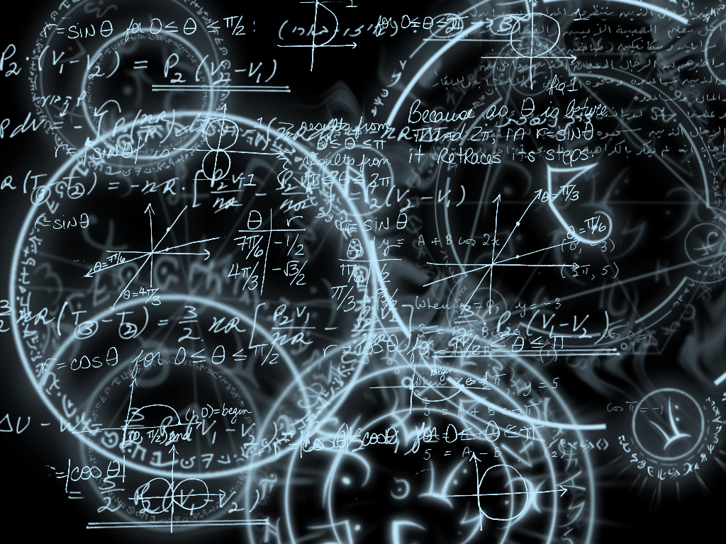 Math and Magic 1024x768 by Serenity-Blue ...