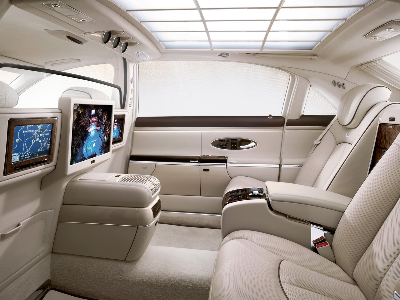 Maybach Interior Pictures