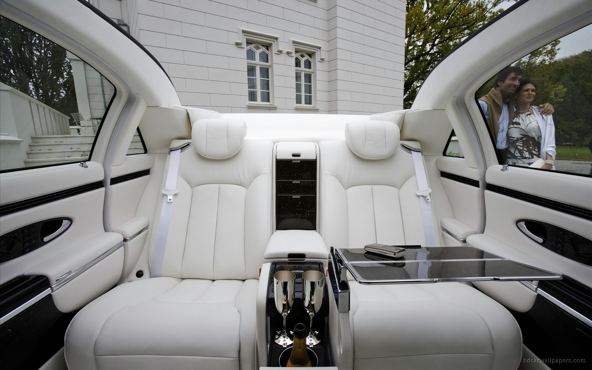 Maybach Interior Wallpaper