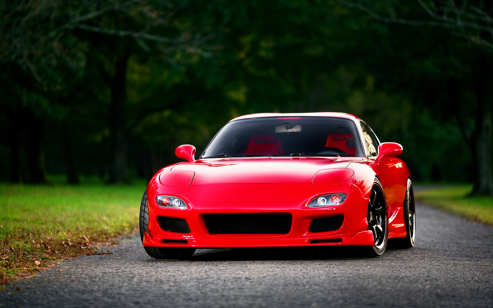Mazda rx7 red