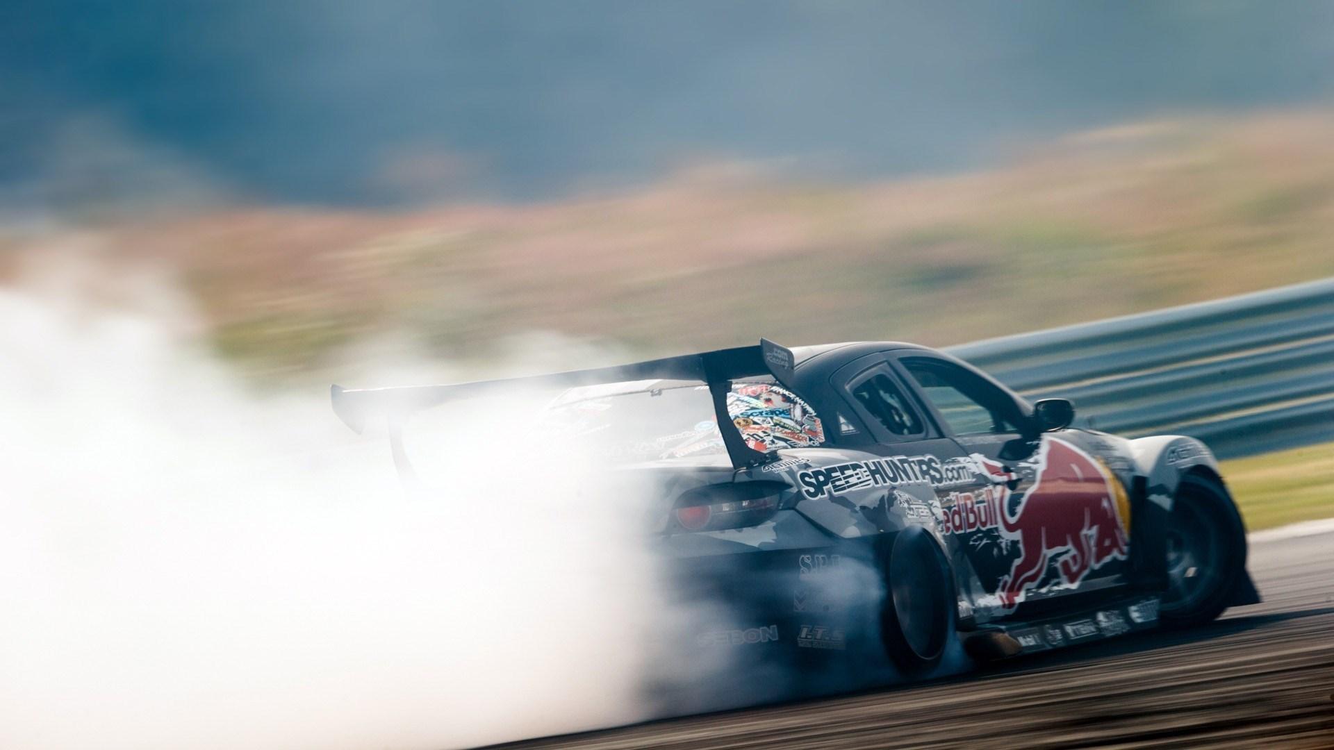 Mazda RX-8 Drift Smoke