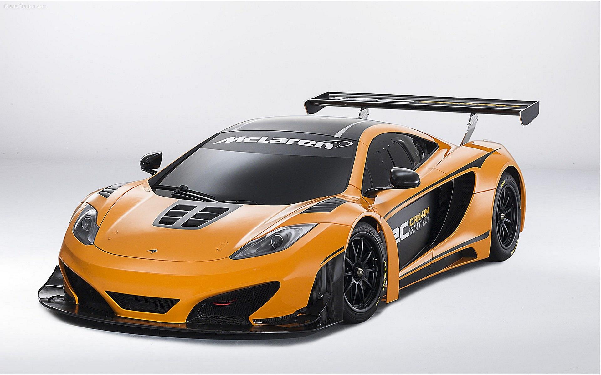 Mclaren 12 Racing Front