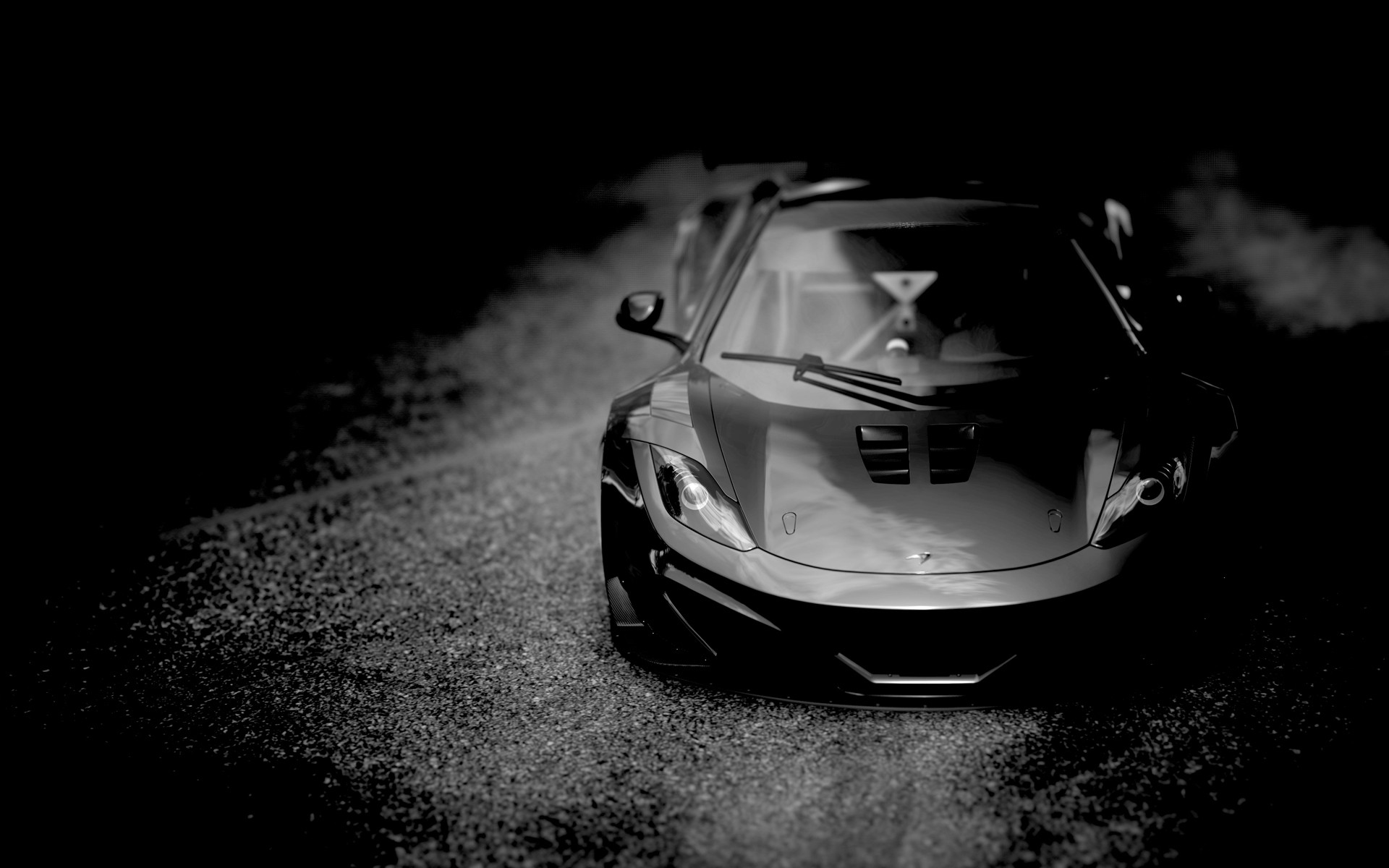 Mclaren mp4 monochrome