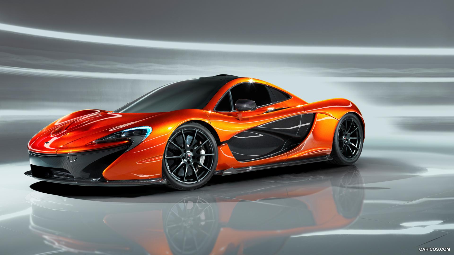 2012 McLaren P1 Concept - Front Wallpaper