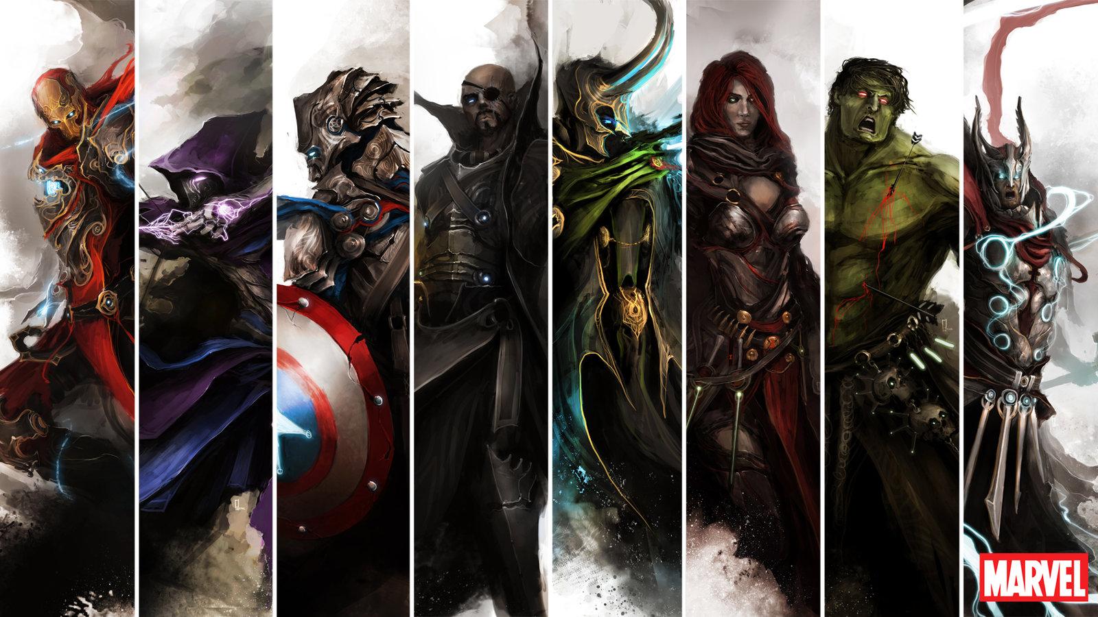Medieval avengers