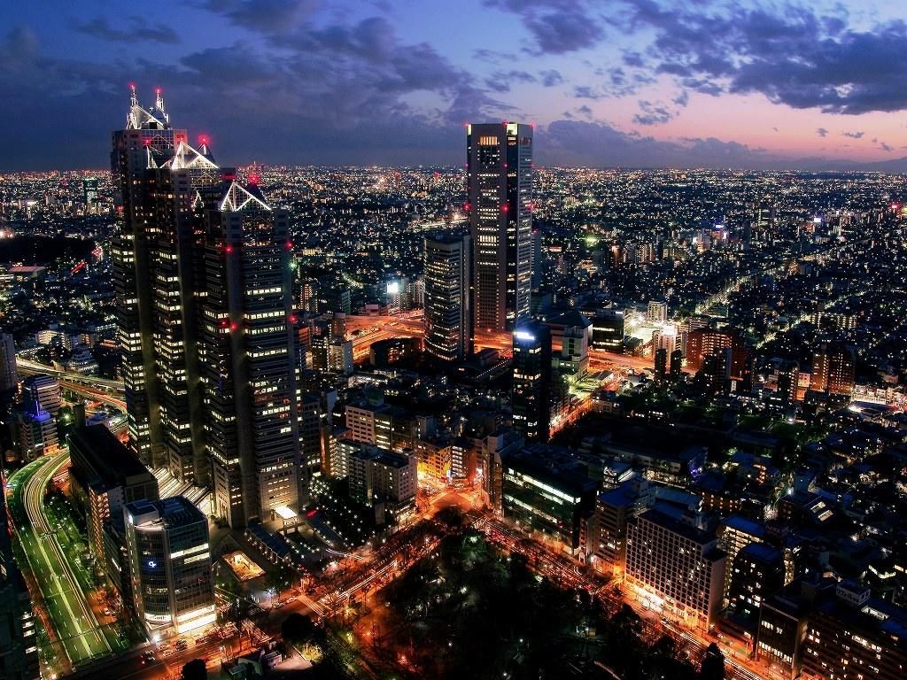 Megacity tokyo japan